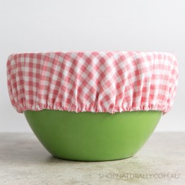 4MyEarth Reusable Food Cover XL - Red Gingham