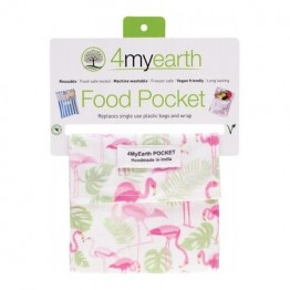 4MyEarth Snack Pocket - Flamingos