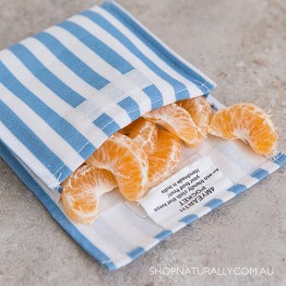 4MyEarth Snack Pocket - Denim Stripe