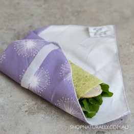 4MyEarth Sandwich Wrap - Purple Dandelion