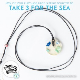 Take 3 Official Fundraising Pendant - Limited Edition 05 of 20