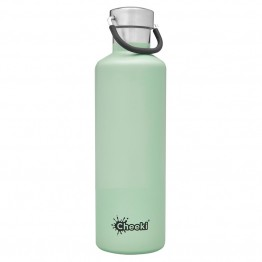 Cheeki Insulated Stainless Steel Water Bottle 600ml - Pistachio