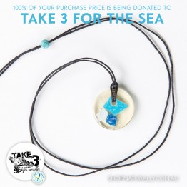Take 3 Official Fundraising Pendant - Limited Edition 06 of 20