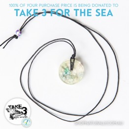 Take 3 Official Fundraising Pendant - Limited Edition 07 of 20