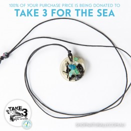 Take 3 Official Fundraising Pendant - Limited Edition 09 of 20