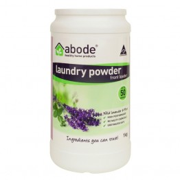 Abode Front Loader Laundry Powder - 1kg Lavender & Mint