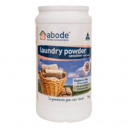 Abode Front Loader Laundry Powder - 1kg Sensitive