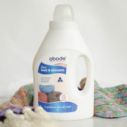 Abode Natural Laundry Liquid - 1L Wool Wash Zero