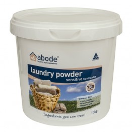 Abode Front Loader Laundry Powder - 5kg Sensitive