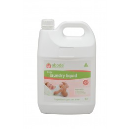 Abode Natural Baby Laundry Liquid - 5L Fragrance Free