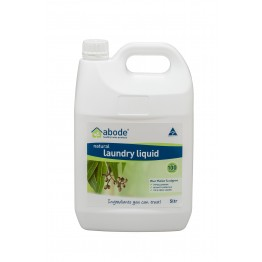 Abode Natural Laundry Liquid - 5L Eucalyptus