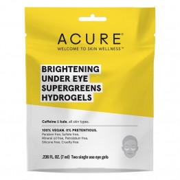 Acure Brilliantly Brightening Under Eye Supergreens Hydrogels