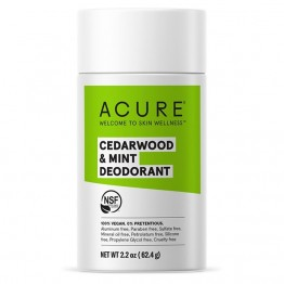 Acure Natural Deodorant Stick - Cedarwood & Mint 63g