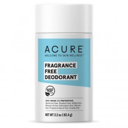 Acure Natural Deodorant Stick - Fragrance Free 63g