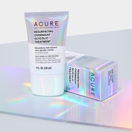 Acure Resurfacing Overnight Glycolic Treatment 30ml