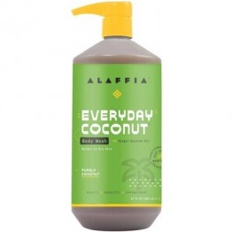 Alaffia Moisturising Body Wash 950ml - Coconut