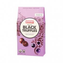 Alter Eco Dark Chocolate Organic Black Truffles - 108g