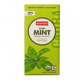 Alter Eco Dark Mint Organic Chocolate 80g
