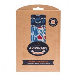 Apiwraps Beeswax Wrap - Cheese Lovers 3 Pack