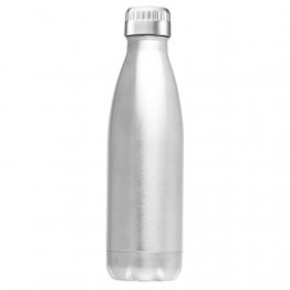 Avanti Stainless Steel Insulated Water Bottle / Flask - 1 litre Silver