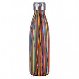 Avanti Stainless Steel Insulated Water Bottle / Flask - 500ml Streamers