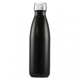 Avanti Stainless Steel Insulated Water Bottle / Flask - 750ml Black