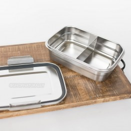 Avanti Dry Cell Stainless Steel Bento Lunch Box - 1.25 LItres