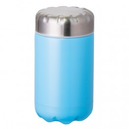 Avanti Stainless Steel Insulated Food Flask with Stainless Inner Lid - 500ml Turquoise