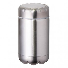 Avanti Stainless Steel Insulated Food Flask with Stainless Inner Lid - 500ml Stainless Steel