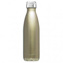 Avanti Stainless Steel Insulated Water Bottle / Flask - 500ml Champagne
