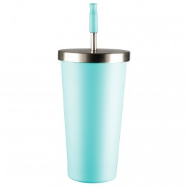 Avanti Stainless Steel Smoothie Tumbler 500ml - Duck Blue