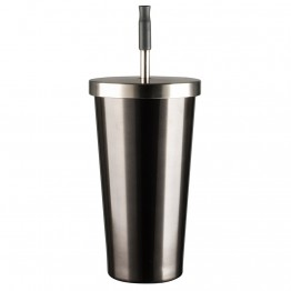 Avanti Stainless Steel Smoothie Tumbler 500ml - Gunmetal