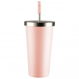 Avanti Stainless Steel Smoothie Tumbler 500ml - Pink