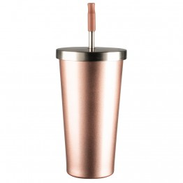 Avanti Stainless Steel Smoothie Tumbler 500ml - Rose Gold