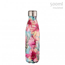 Avanti Stainless Steel Insulated Water Bottle - 500ml Hibiscus