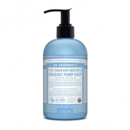 Dr Bronner's Organic 4-in-1 Pump Soap - Baby Unscented
