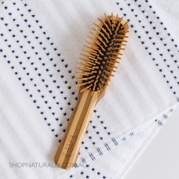 Bass Brushes Bamboo Wood Hair Brush - Professional Style