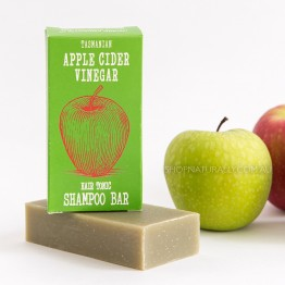Beauty & The Bees Shampoo Bar 125g - Tasmanian Apple Cider Hair Tonic