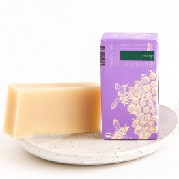 Beauty & The Bees Shampoo Bar 125g - Hemp & Honey (dry sensitive scalp & hair)