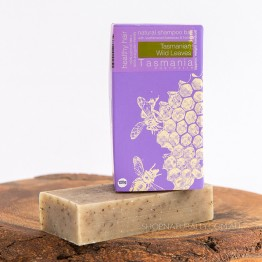 Beauty & The Bees Shampoo Bar 125g - Tasmanian Wild Leaves (coloured hair)