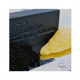 Beauty & The Bees Soap Bar 125g - Black Velvet Bamboo Charcoal