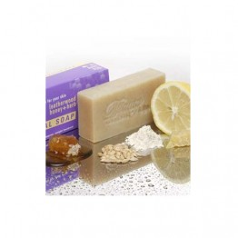 Beauty & The Bees Soap Bar 125g - Callington Mill Lemon Barley & Honey