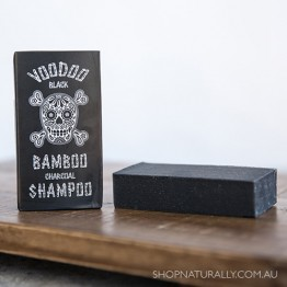 Beauty & The Bees Shampoo Bar 125g - Voodoo Black Bamboo (body & shine)