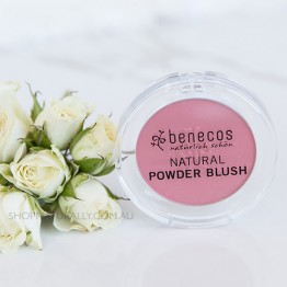 Benecos Natural Blush Powder - 5.5g Sassy Salmon