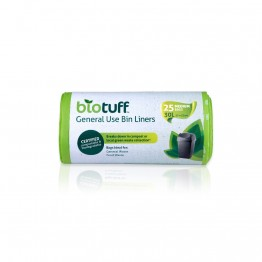 BioTuff Compostable Garbage Bags 30 litres