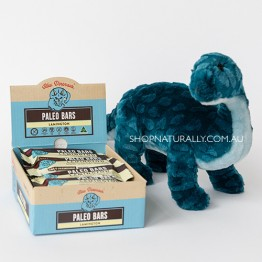 Blue Dinosaur Paleo Bars - 45g Lamington - Box of 12