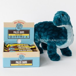 Blue Dinosaur Paleo Bars - 45g Mac' Lemon - Box of 12