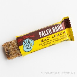 Blue Dinosaur Paleo Bars - 45g Mac' Lemon