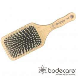Bodecare Hair Brush - FSC Certified Wide Paddle Scalp Massage