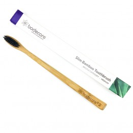 Bodecare Slimline Bamboo Toothbrush - Medium